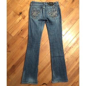 Miss Me Boot Cutt Jean Size 26